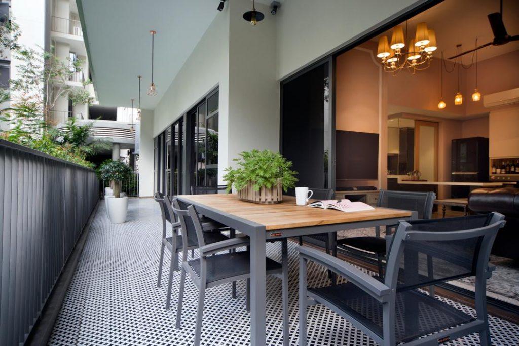 Balcony Dining Areas