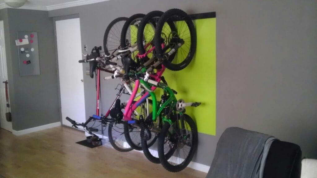 Bike Stand Wall